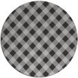 rug #671765 | round check rug
