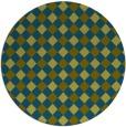 rug #671783 | round check rug
