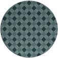 rug #671794   round check rug