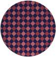 rug #671815   round check rug