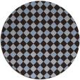 rug #671833 | round check rug