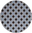 rug #671835 | round check rug