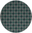 rug #671851 | round check rug