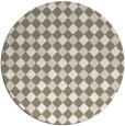 rug #671863 | round check rug