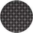 rug #671869 | round brown check rug