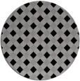 rug #671896   round check rug