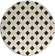 rug #671898   round check rug