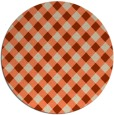 rug #671919 | round check rug