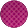 rug #671930 | round check rug