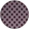 rug #671957   round check rug