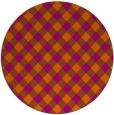 rug #671988   round check rug