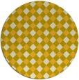rug #672010   round check rug
