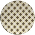 rug #672016 | round check rug