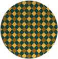 rug #672026   round check rug
