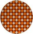 rug #672037   round beige check rug