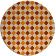 rug #672039 | round check rug