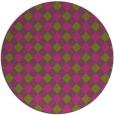 rug #672049 | round pink rug
