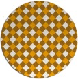 rug #672057 | round light-orange check rug