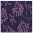 rug #674281   square purple natural rug