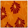 rug #674373 | square orange natural rug