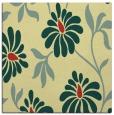 rug #674389 | square yellow rug