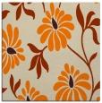 rug #674501 | square orange natural rug