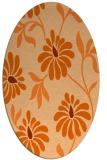 rug #674798 | oval natural rug