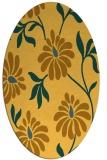 rug #674841   oval light-orange natural rug