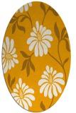 rug #674873   oval light-orange natural rug