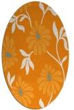 rug #674881   oval light-orange natural rug