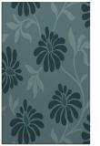 rug #674961 |  blue-green natural rug