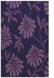 rug #674985 |  blue-violet natural rug