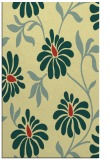 rug #675093 |  yellow natural rug