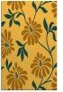 rug #675193 |  yellow natural rug