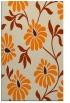 rug #675205 |  orange natural rug