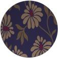 rug #675349 | round beige natural rug