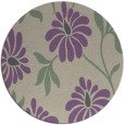 rug #675421 | round beige natural rug