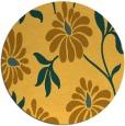rug #675545 | round light-orange natural rug