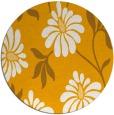 rug #675577 | round light-orange natural rug
