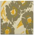 rug #676233 | square yellow natural rug