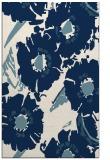 rug #676673 |  blue-green natural rug