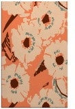 rug #676849 |  orange popular rug