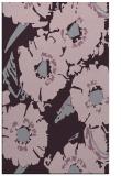 rug #676885 |  purple natural rug