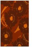 rug #676905 |  red-orange natural rug