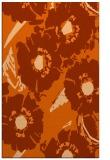 rug #676909 |  red-orange natural rug