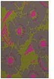 rug #676977 |  light-green natural rug