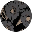 rug #677013 | round beige natural rug