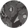 rug #677201 | round red-orange natural rug