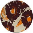 rug #677317   round natural rug