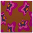 rug #679729 | square red-orange natural rug